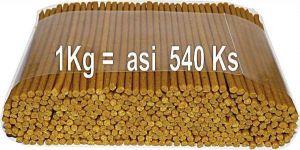 Delika-Pet alan drůbeží tyčinky 4mm 1kg/540ks