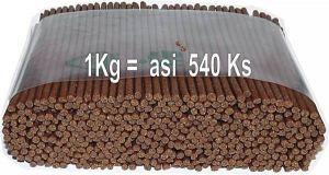 Delika-Pet alan játrové tyčinky 4mm 1kg/540ks