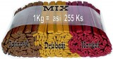 Delika-Pet asta plátky mix 1kg/255ks