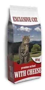 Delikan Exclusive Cat with Cheese 10kg