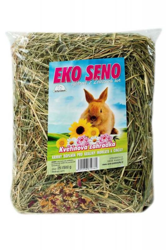 Seno EKO Květinová Zahrádka 25l / 500g (8ks/bal) JLP product
