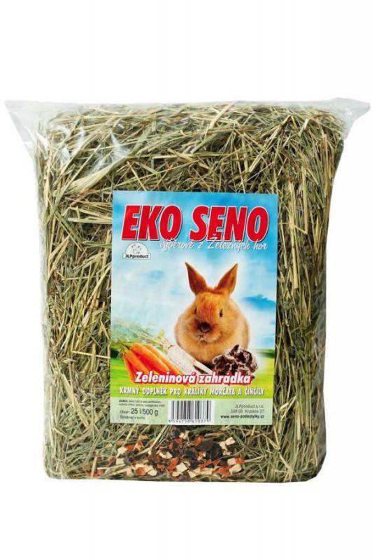 Seno EKO Zeleninová Zahrádka 25l / 500g (8ks/bal) JLP product