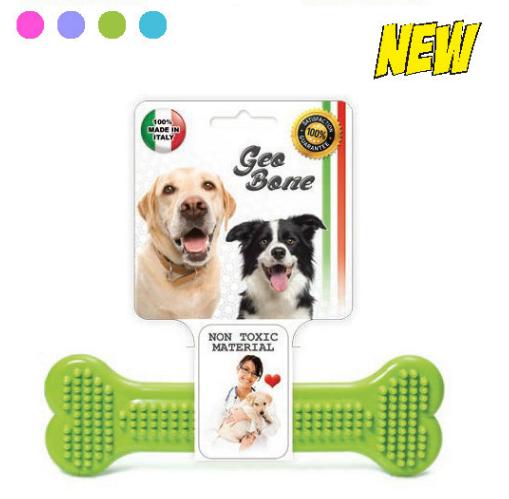 Hračka pro psy GEO BONE 3 SIERA - Plast