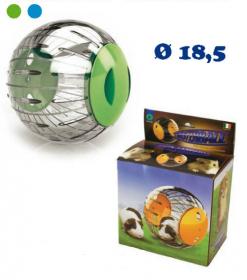 Koule na cvičení pro malé hlodavce TWISTERBALL průměr 18,5 cm