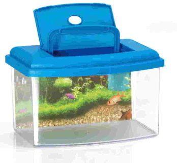 Akvárium s víkem Aquarium 2,5lt. 28 x 20 x 17cm SIERA - Plast