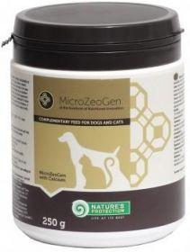 Nature's Protection doplněk stravy Microzeogen pro kočky a psy s kalciem 250 g