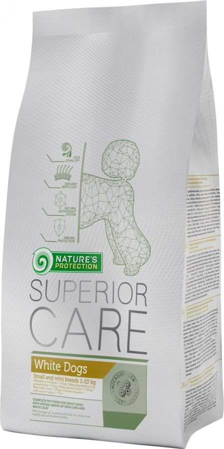 Natures Protection SC White Dog Adult Small&Mini Breeds 10kg Nature´s Protection