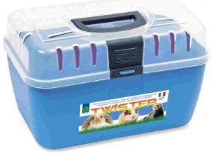 Transportní kufřík na menší zvířata TWISTER 29 x 19 x 18cm SIERA - Plast