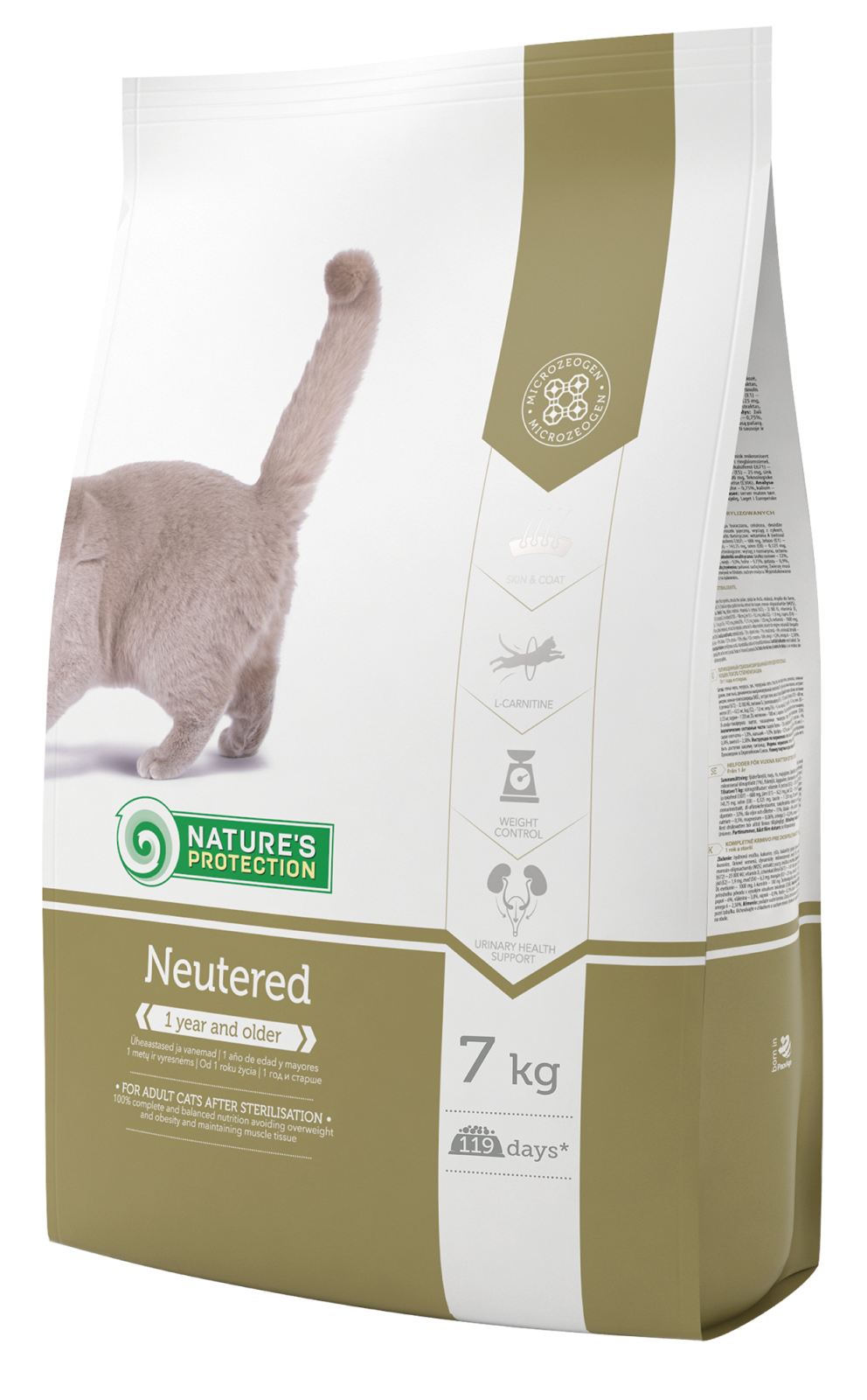 Natures Protection Cat Neutered 7kg Nature´s Protection