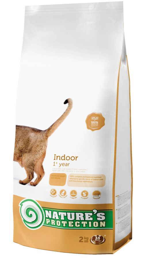 Natures Protection Cat Indoor 2kg Nature´s Protection