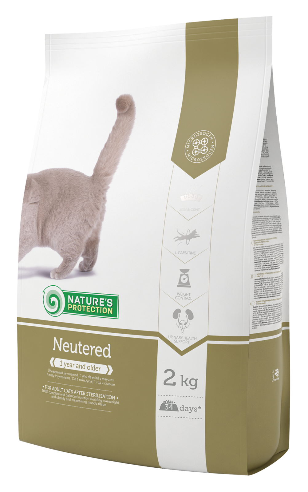 Natures Protection Cat Neutered 2kg Nature´s Protection