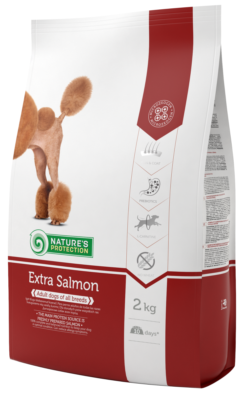 Natures Protection Dog Extra Salmon 2kg Nature´s Protection