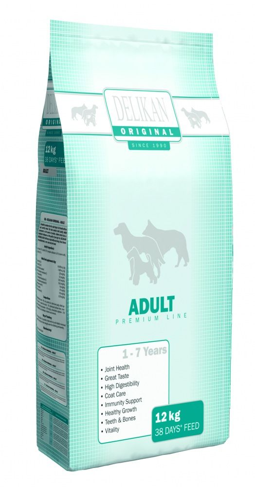 Delikan Original Dog Adult 12kg