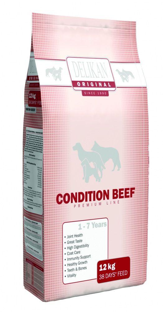 Delikan Original Dog Condition Beef 12kg