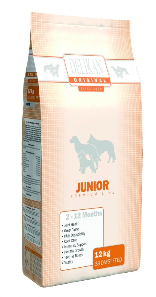 Delikan Original Dog Junior 12kg