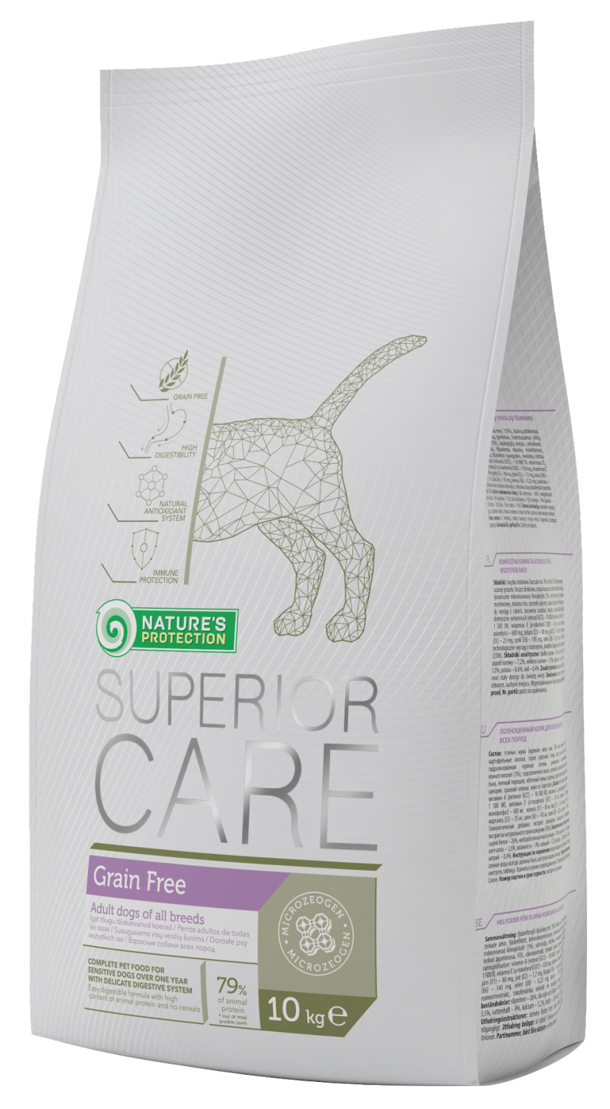 Natures Protection SC Dog Grain Free 10 kg Nature´s Protection