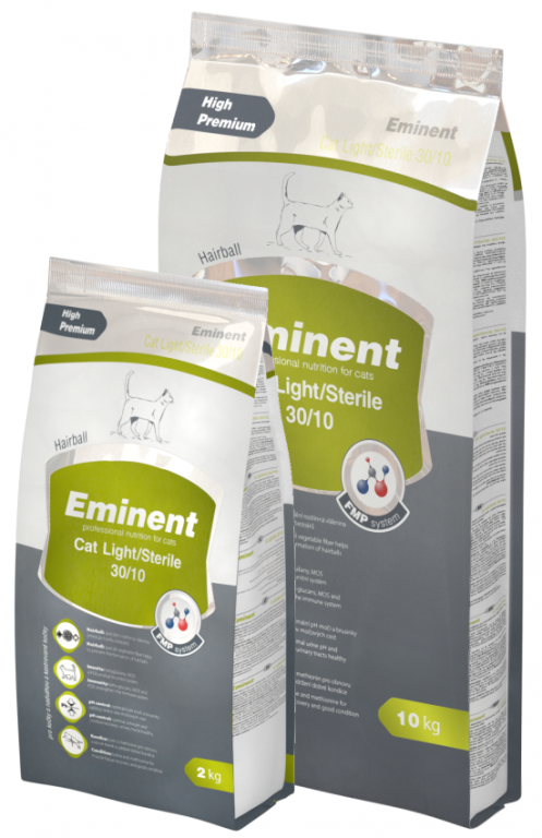 Eminent Cat Light / Sterile 2 kg