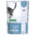 Nature's Protection Cat kapsa Kitten Chicken & Rabbit - Healthy Growth 100g