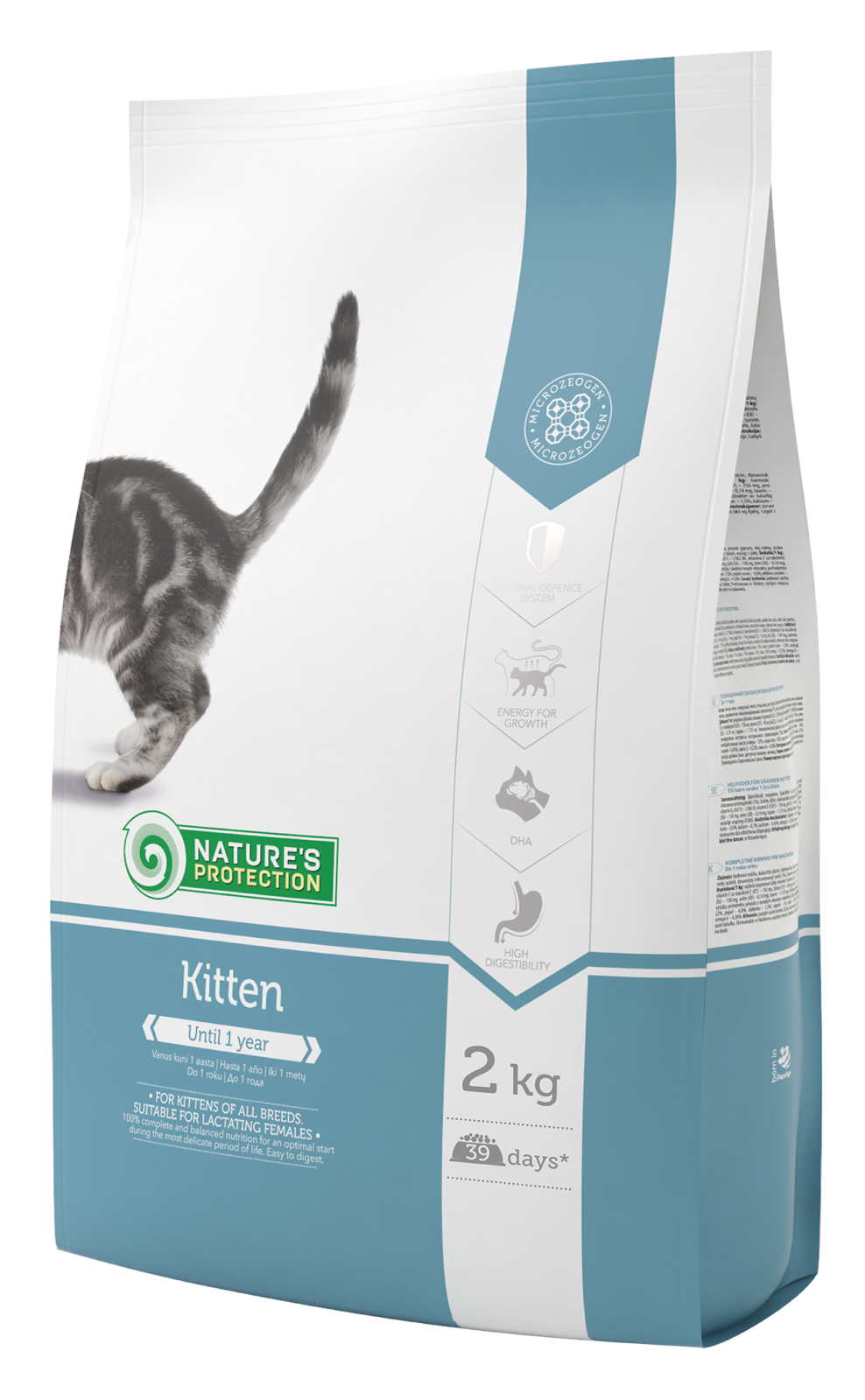 Natures Protection Cat Kitten 2kg Nature´s Protection