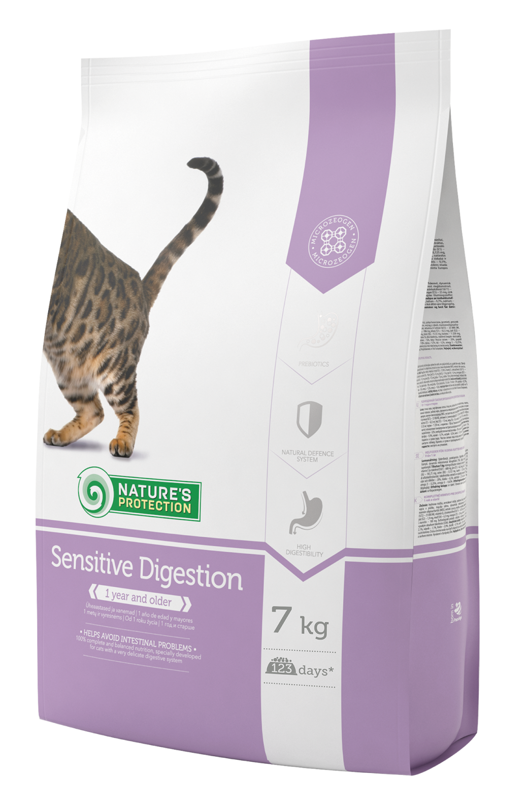 Natures Protection Cat Sensitive Digestion 7kg Nature´s Protection