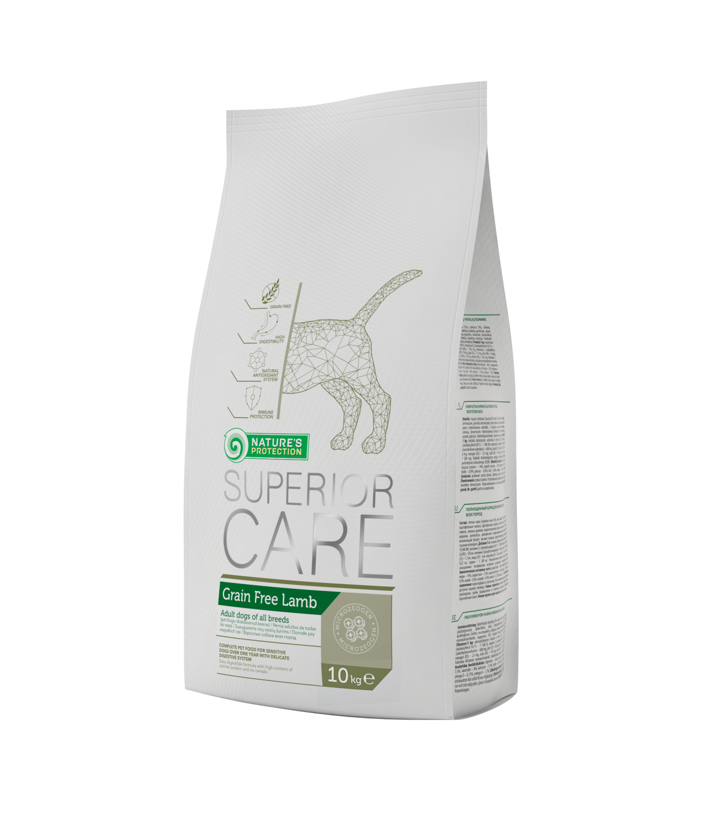 Natures Protection SC Dog Grain Free Lamb 10kg Nature´s Protection