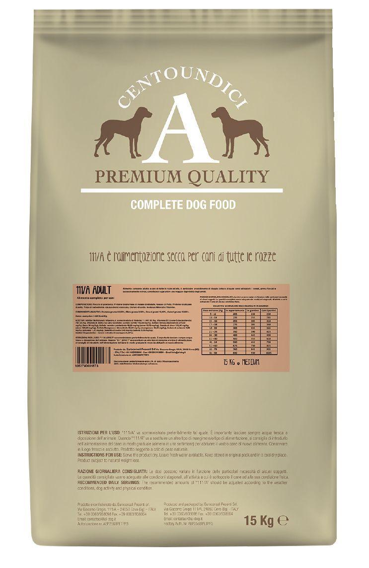 Centoundici Premium Dog Adult 15kg
