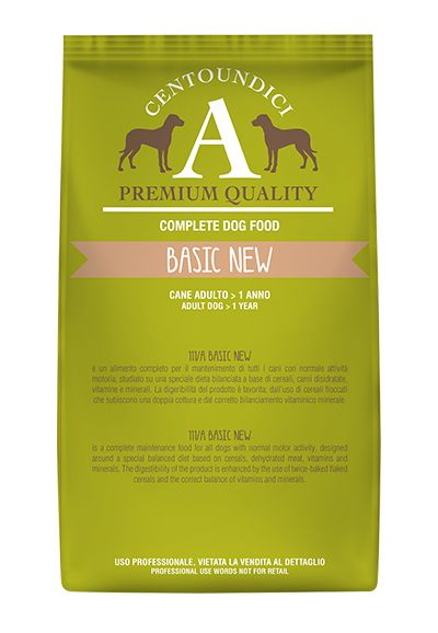 Centoundici Premium Dog Basic New Medium 20kg