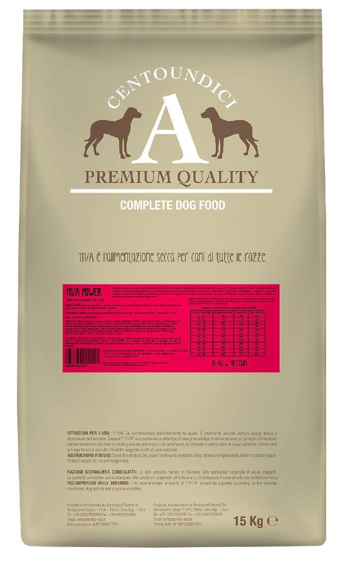 Centoundici Premium Dog Power 15kg