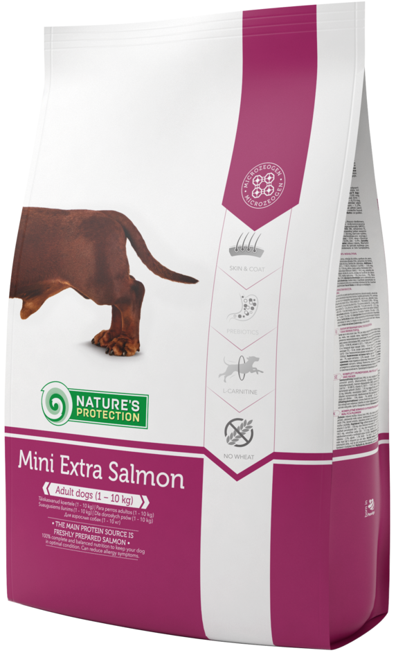 Nature's Protection Dog Mini Extra Salmon 2kg Nature´s Protection
