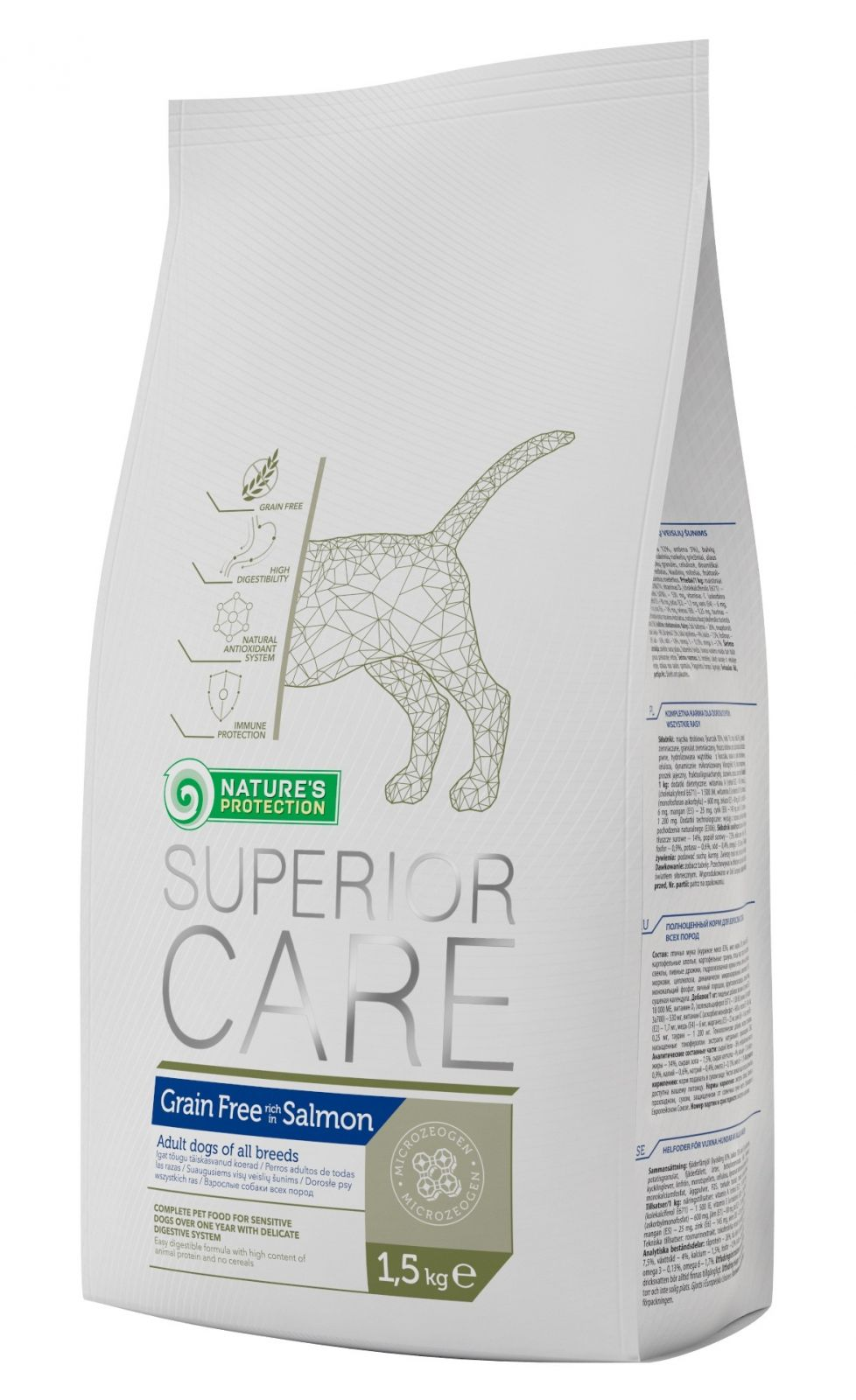 Nature's Protection SC Dog Grain Free Salmon 1,5kg Nature´s Protection