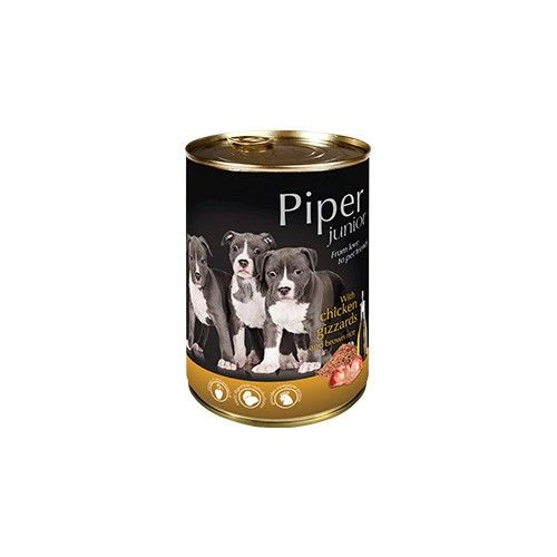 Piper Junior with Chicken Gizzards and Brown Rice 400g