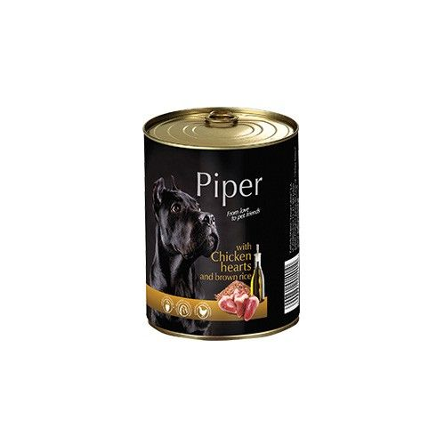 Piper with Chicken Hearts and Brown Rice 400g