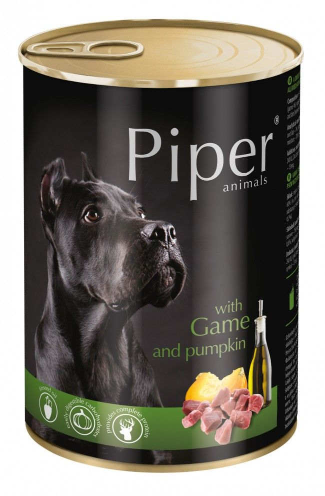 Piper with Game and Pumpkin 400g