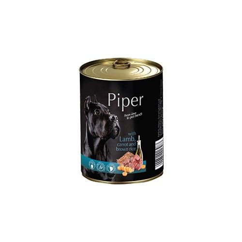 Piper with Lamb, Carrot and Brown Rice 400g