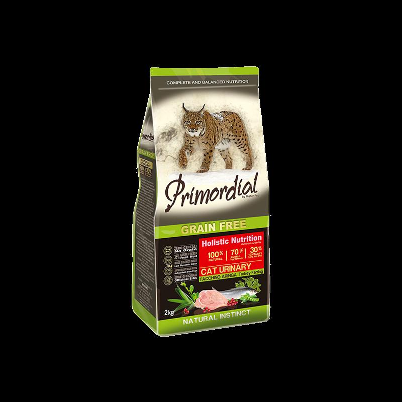 PRIMORDIAL Cat Urinary Turkey & Herring 2kg