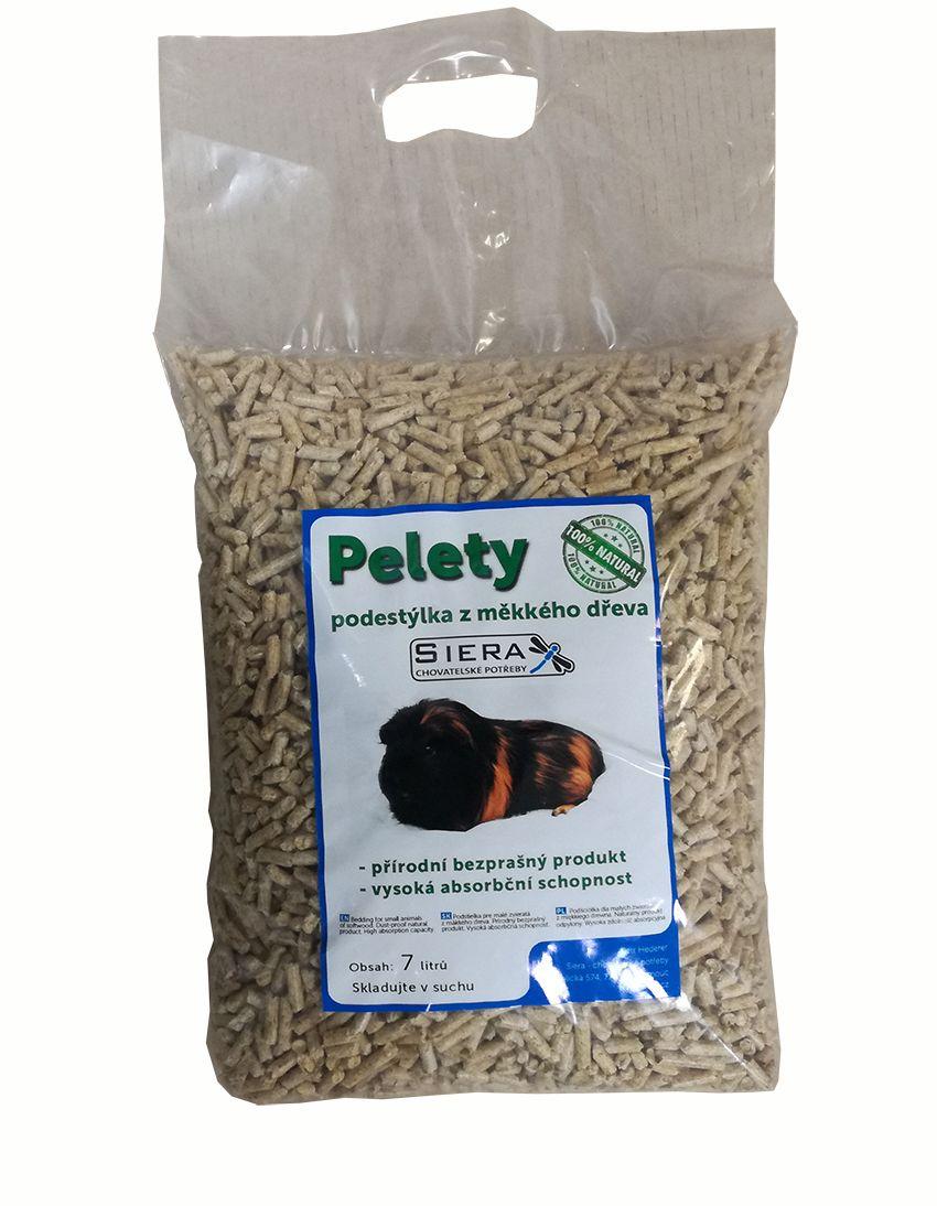 Siera dřevěné pelety 7l / 4kg SIERA - Pelety